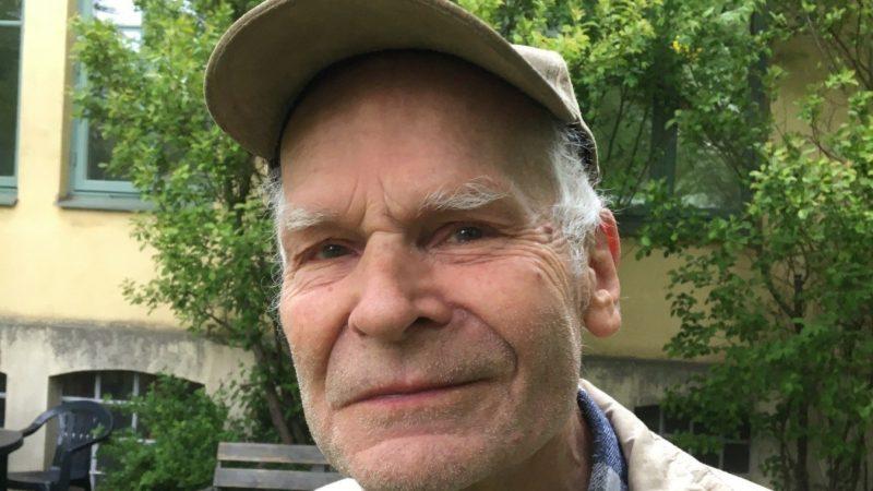 Anders Emgård, kulturpristagare i Staffanstorps kommun 2020. Foto Ivar Sjögren