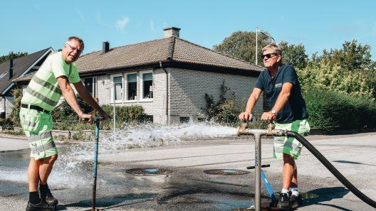 Luft och vattenspolning Foto: Svapipe