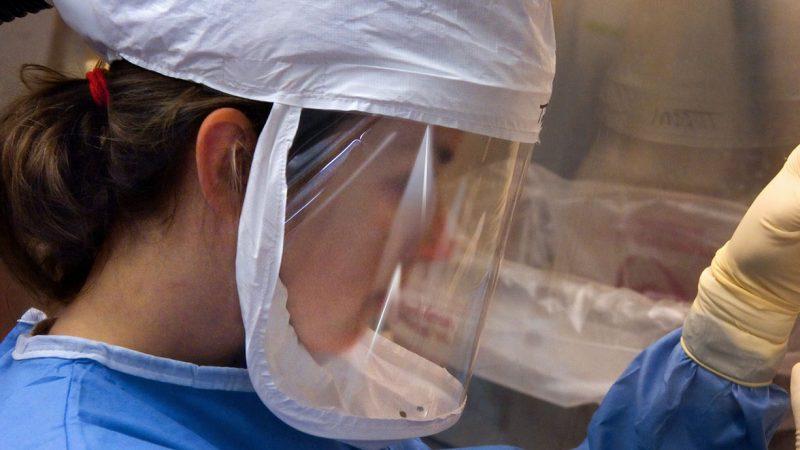 Skyddsvisir. Foto: CDC/Unsplash
