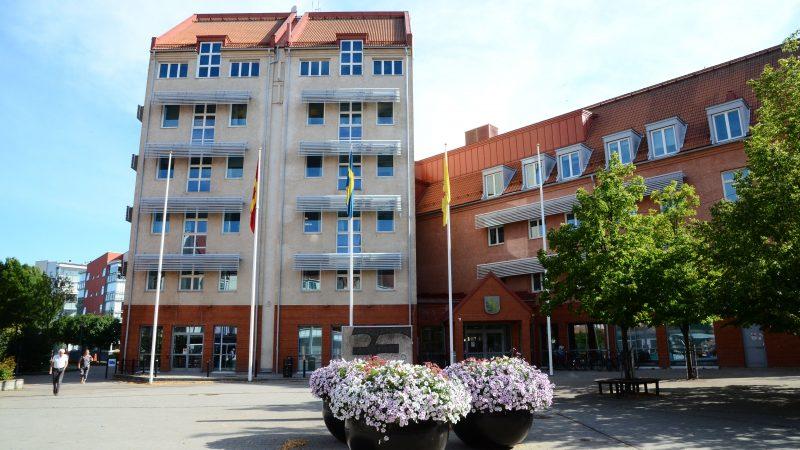 Bild på Rådhuset i Staffanstorp.