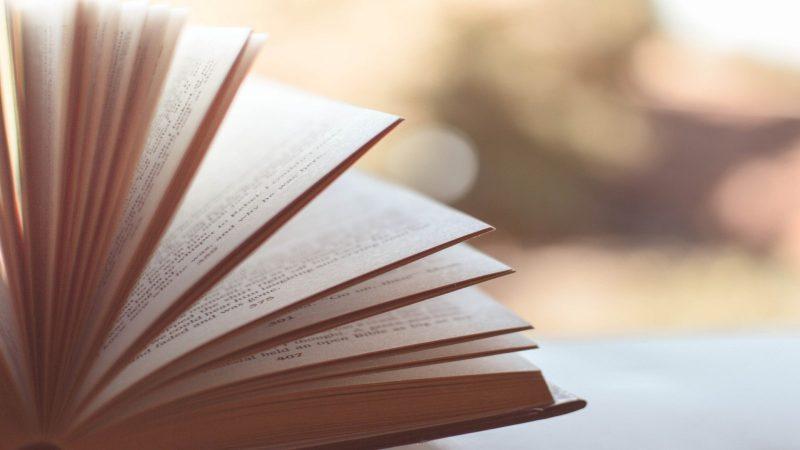 Foto av en bläddrande bok. Foto: Pexels från Pixabay