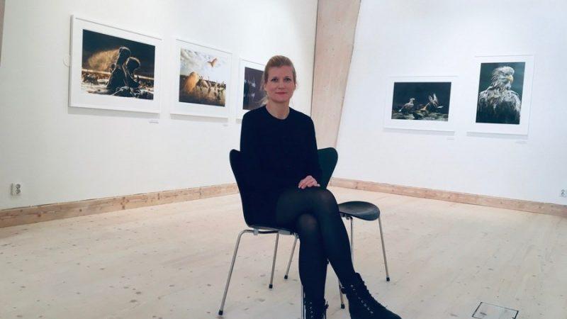 Viktorias mål är att bredda Konsthallens och Medborgarhusets verksamhet och öppna upp mot allmänheten i högre grad än tidigare. Foto Ivar Sjögren