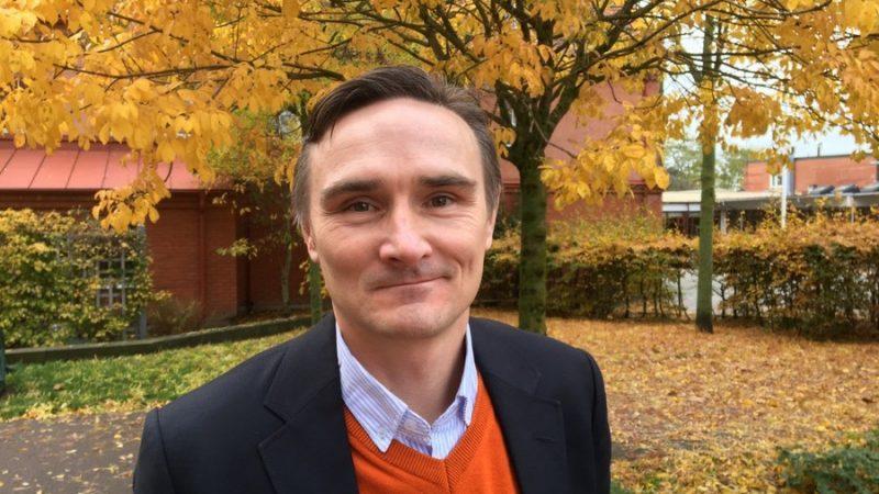 Michel Tränefors, ny teknisk chef i Staffanstorps kommun. Foto Ivar Sjögren