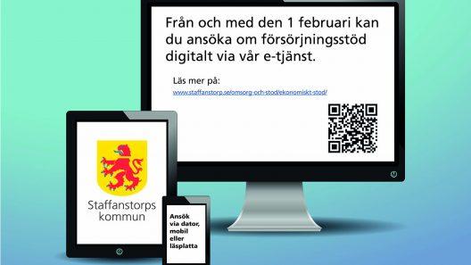 Ny e-tjänst för dig som söker ekonomiskt bistånd. Bild: Pixabay