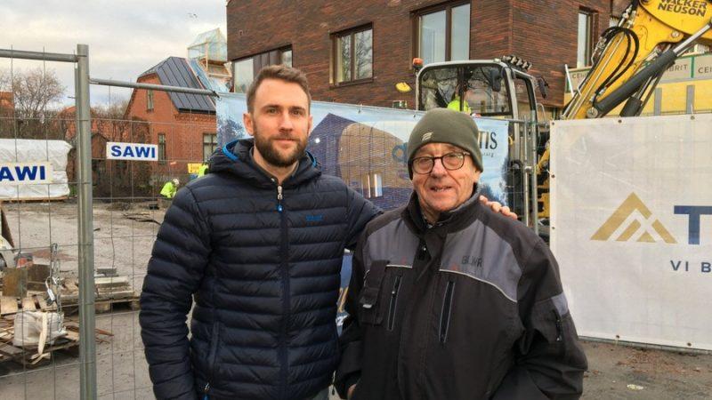 Adam och Sven-Olof Thorstensson. Foto: Ivar Sjögren
