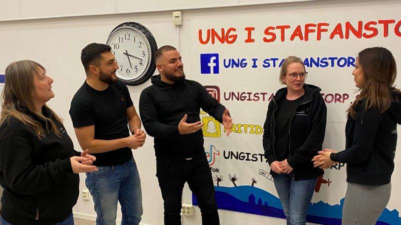 Ledare från Ung i Staffanstorp. Foto: Staffanstorps kommun
