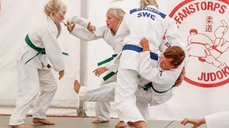 Judo. Foto & licens: Mats Schöld
