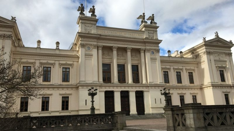 Universitetsbyggnaden i Lund.